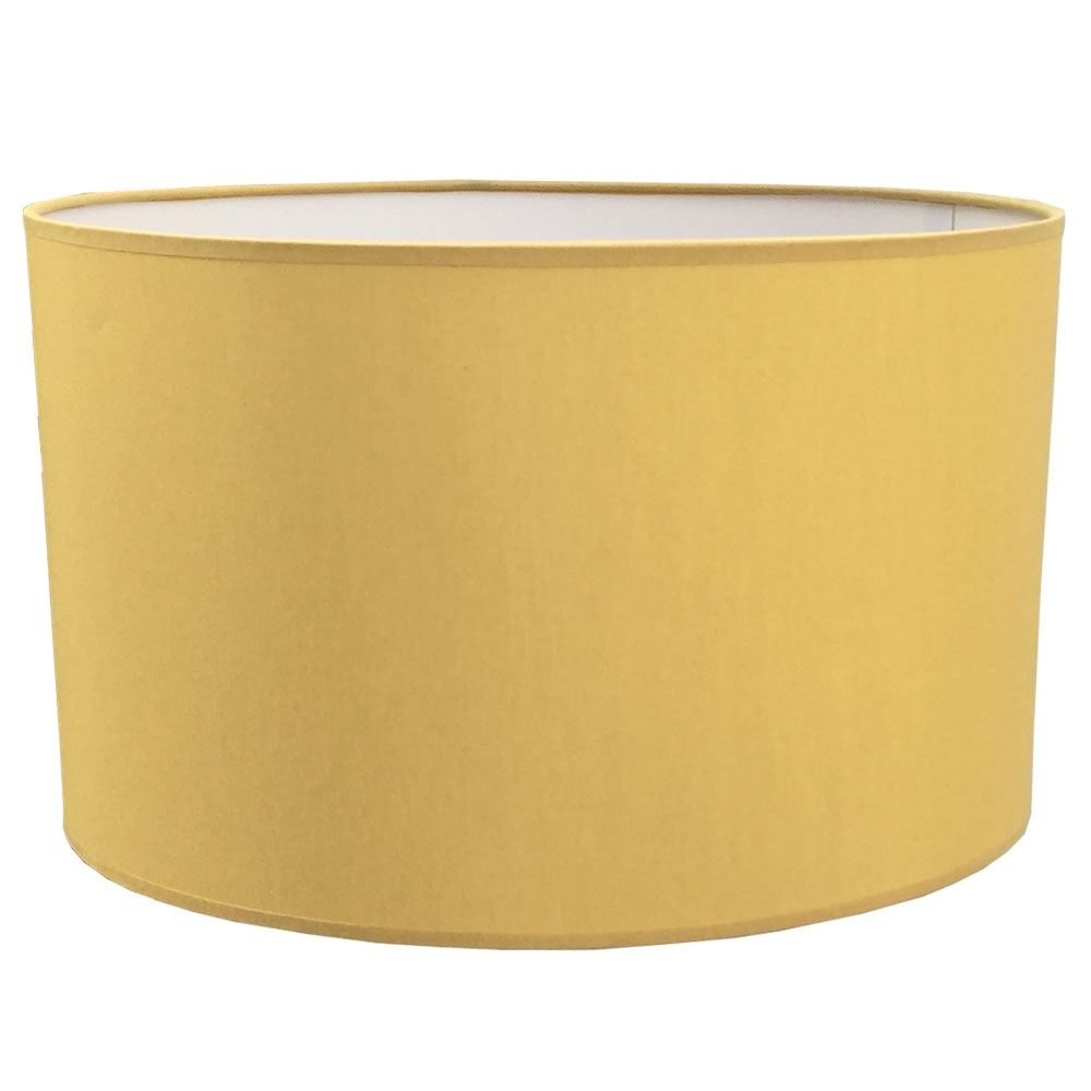 Drum Table Lampshade Gold